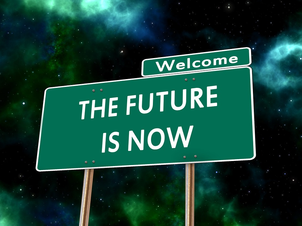 Figure 1. The future is what? The future is now.*